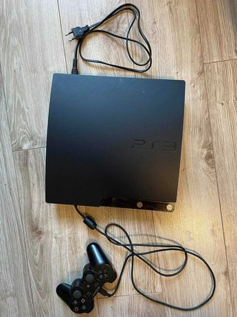 Zestaw Playstation 3 512 GB + pad dualshock 3 + pełne okablowanie
