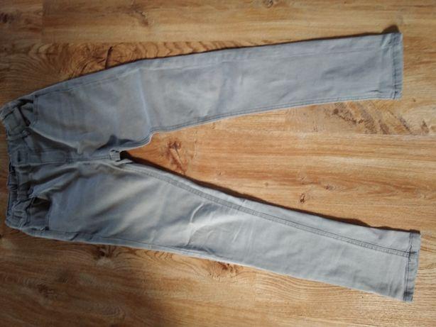 Szare jeansy rurki Reserved 152 cm