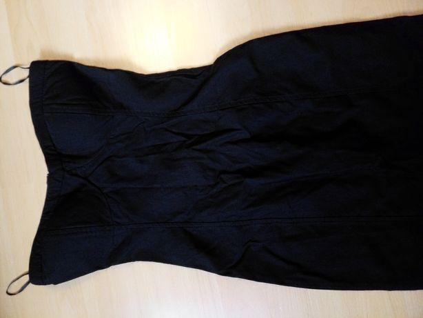 Sukienka mała czarna fishbone