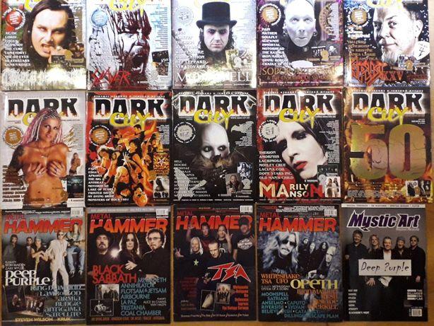 русский журнал о рок музыке DARK CITY
