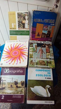 livros anos 60 / 70