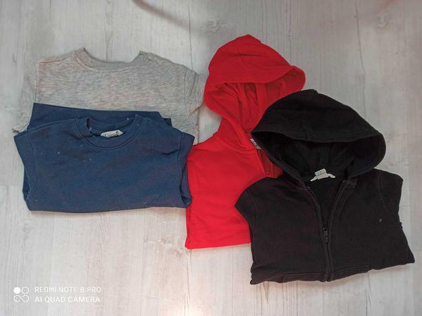 Bluzy H&M rozm 110-116