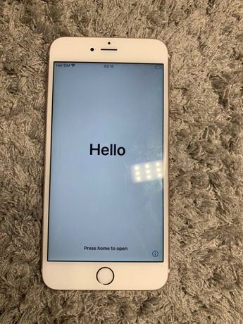 IPhone 6S Plus Rose Gold 64Gb Icloud lock