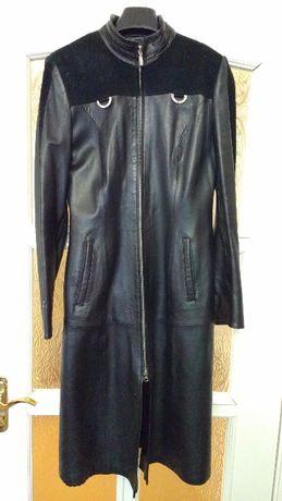 Пальто шкіряне жіноче UMUT LEATHER