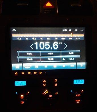 """Radio dotykowe 9"""" Android 9.0 2 din GPS WiFi nawigacja VW Skoda Seat"""