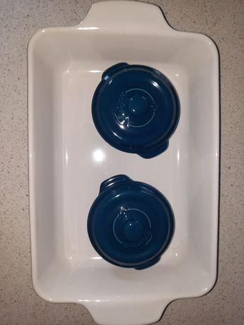 Форма для запекания, 2 кокотницы fontignac