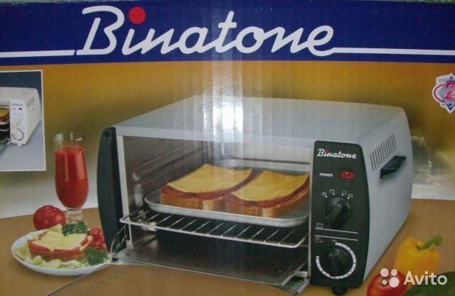 Продам мини-печь (ростер) Binatone MO4200/MO4300 под ремонт или на з/ч