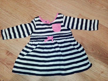 Sukienki niemowlęce rozmiar 62 - 2 sztuki