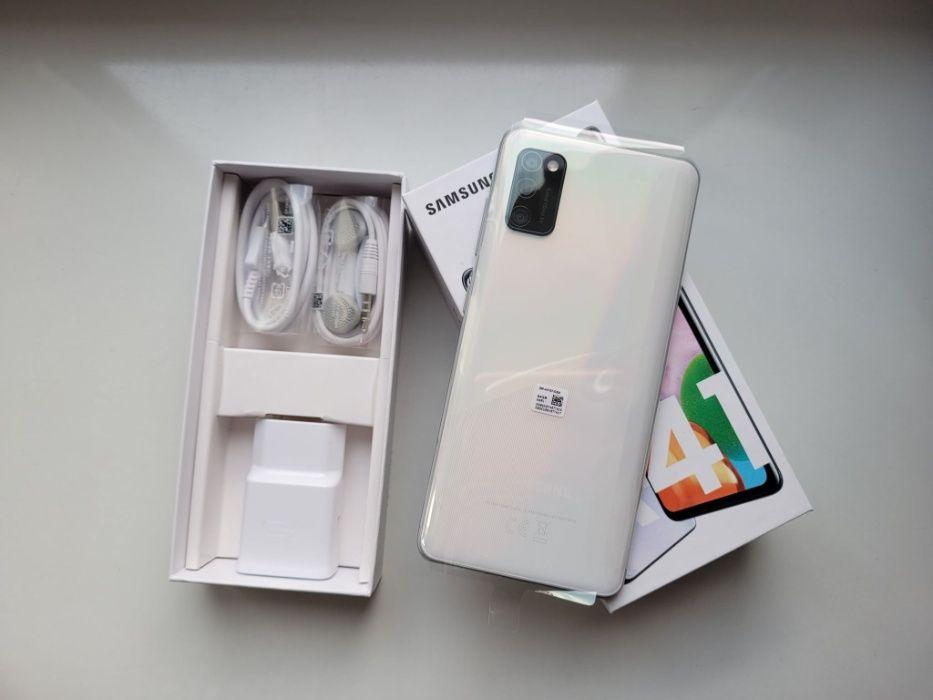 Samsung A41 64GB nieużywany NOWY biały Poznań - image 1