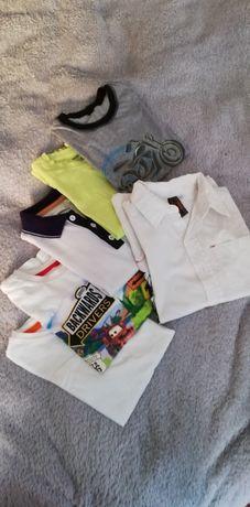 T-shirty chłopięce; cena za wszystko 25 zł