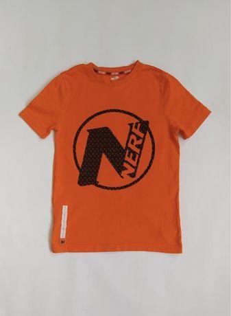 Оранжевая футболка на мальчика