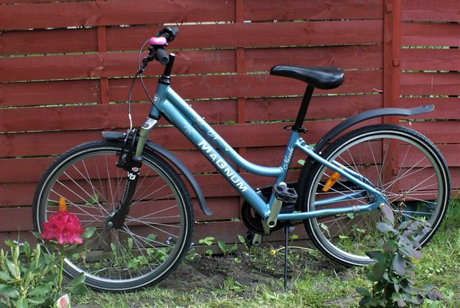 Rower dla dziewczynki firmy Magnum koła 24 cale. Rower jak nowy