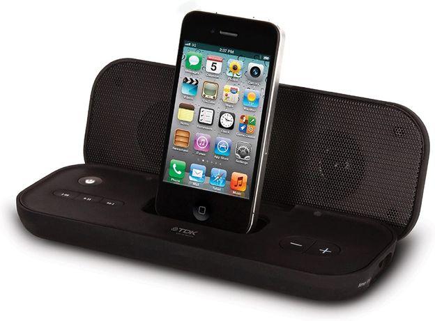 TDK TAC3122BK Portable Travel Speaker for iPod/iPhone Black