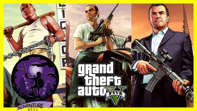 Grand Theft Auto GTA V 5 + Criminal Enterprise KLUCZ ROCKSTAR