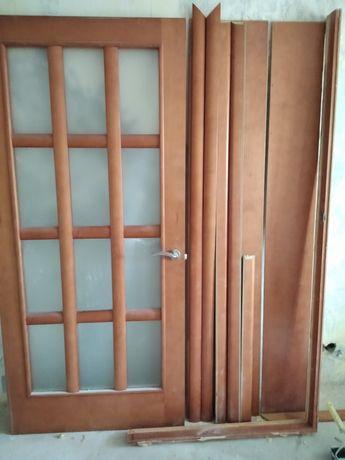 Двери с доборами.Полотно 900мм