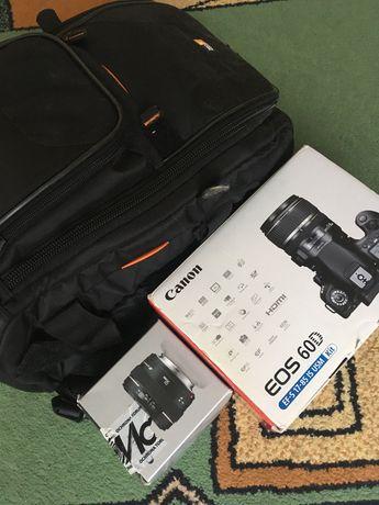 Canon EOS 60D / solidny zestaw + akcesoria + plecak / stan idealny