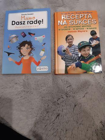 Zestaw dwóch książek Mamo daszr radę i Recepta na sukces