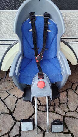 Fotelik rowerowy Hamax Siesta z dwoma uchwytami, używany, dobry stan