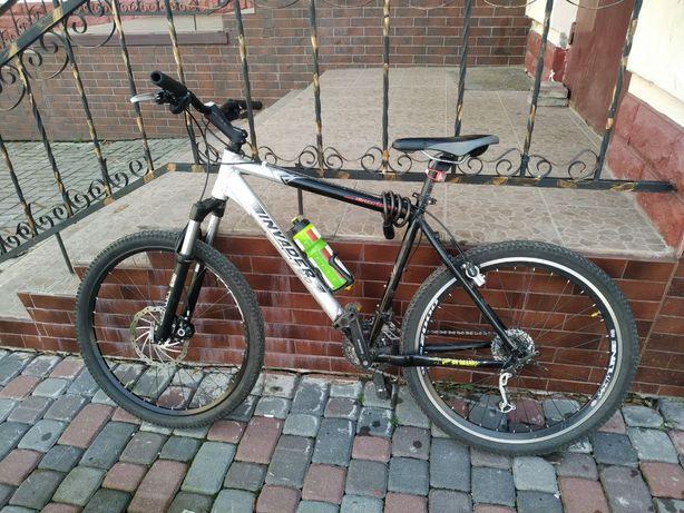 Велосипед гірський хардтейл Invider, вилка Rock Shox