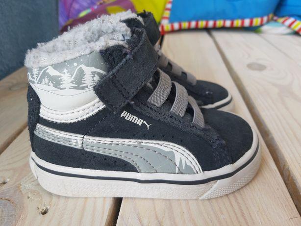 Ocieplane piękne buciki buty puma na jesień rozmiar 20