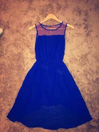 Sukienka elegancka, zwiewna