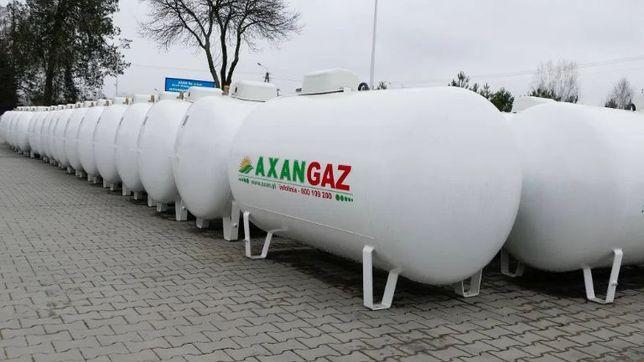Zbiornik na gaz propan 2700 l, 4850 l, 6400l. LPG, gaz płynny