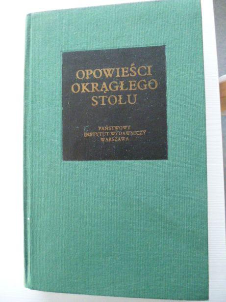 Opowieści Okrągłego Stołu - Jacques Bouloenger Bibliotheca Mundi