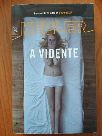 """Livro """"A Vidente"""" de Lars Kepler"""