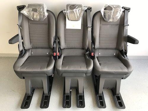 Fotele do busa busów Ford Custom fotel brygadówka zabudowa osobowe