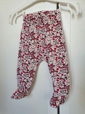 H&m spodnie, półśpiochy, geterki rozm 62 cm