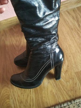 Шкіряні чоботи,сапоги,черевики