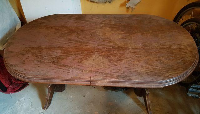 Stół drewniany rozkładany podnoszony