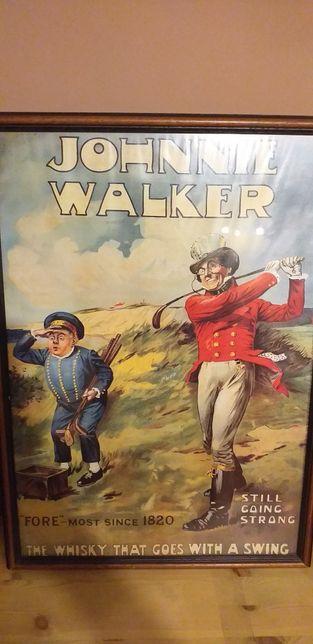 Plakat Johnnie Walker