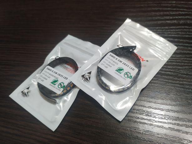 Адресные светодиоды SMD 2835 3V-3.2V Led белые white