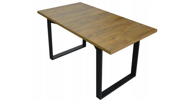 Stół loft industrialny VENUS rozkładany 190/150x80cm POBRANIE