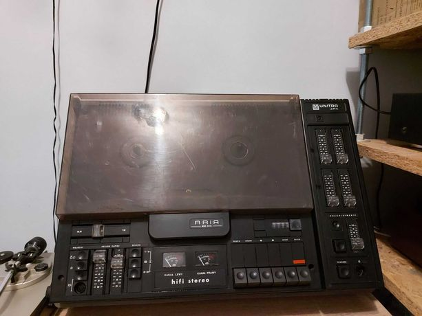 Magnetofon szpulowy ZRK Unitra ARIA
