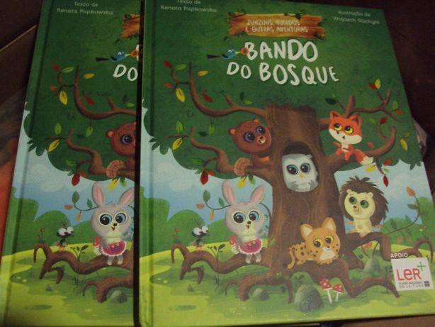Livro Bando do Bosque Pingo Doce