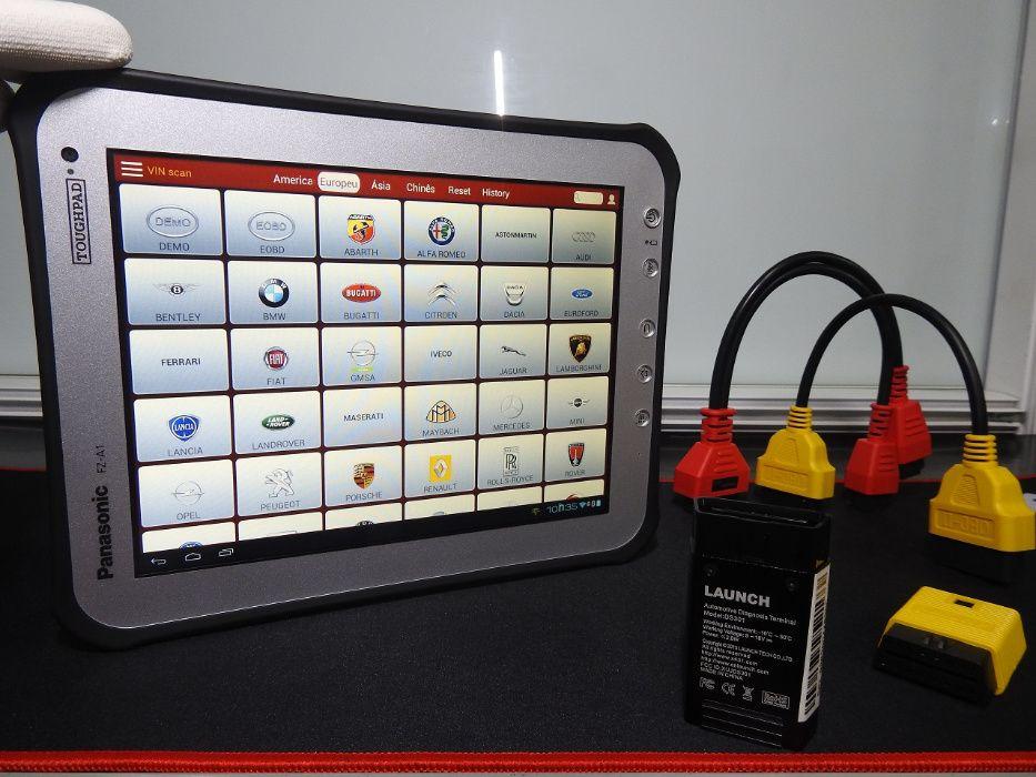 Launch Máquina de Diagnóstico Oficial Original Sistema multimarcas Ermesinde - imagem 1
