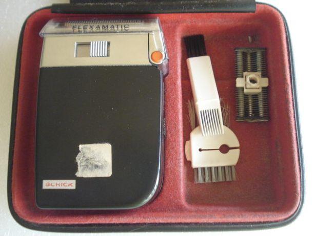 Vintage Maquina de Barbear Alemã Flexmatic - Western Germany.