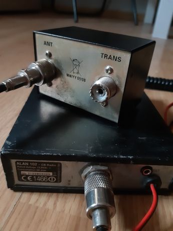 Cb radio i reflektometr