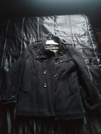 Płaszcz Męski Czarny Ganeder