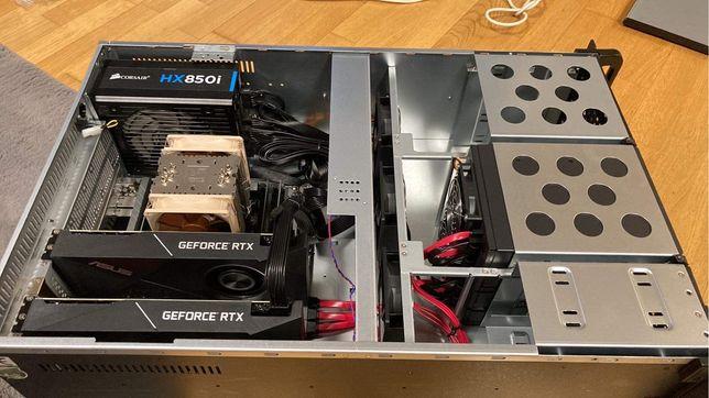 Komputer, serwerownia (2x Rtx 2070)