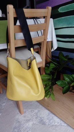 Top Secret żółta torebka