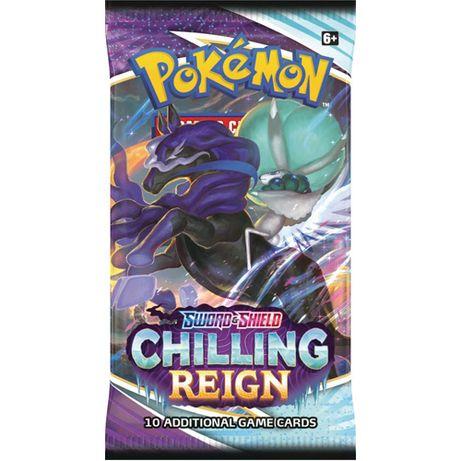 Boosters Pokémon Chilling Reign para break