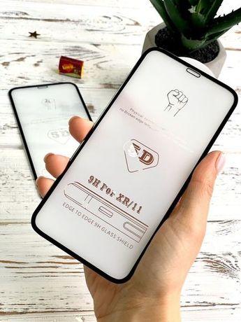 Защитное 5D стекло IPhone 7 s 8 Plus X XR Xs Max 11 Pro 12