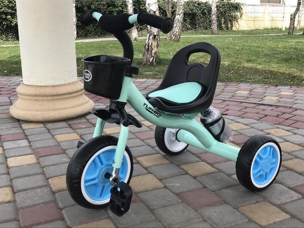 Велосипед трехколесный  от 1.8 до 5 лет