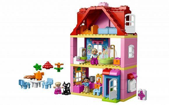Lego Duplo трехэтажный кукольный дом