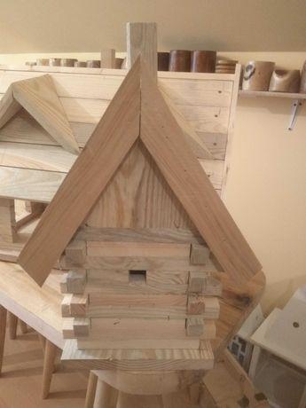 Karmnik domek budka lęgowa dla ptaków typ Sokołowski A A1 B i więcej