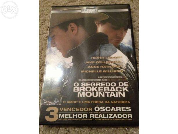 Dvd o segredo de brokeback mountain (2005), de ang lee