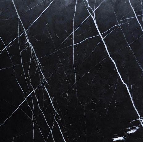 Płytka 80x80 imitacja czarnego marmuru